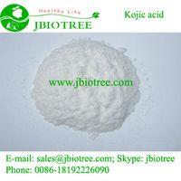 High quality cosmetics grade Kojic acid/Cas No.501-30-4