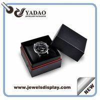Custom logo printed paper watch gift boxes, paper bracelets cases , paper chests for watch and brace