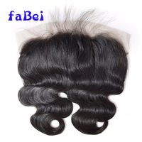 human hair piece wholesale ear to ear full lace silk base lace frontal closure thumbnail image