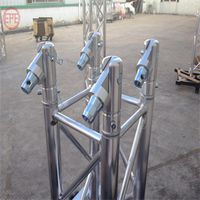 Aluminum standard truss for event lightingTruss display concert stage roof truss curved roof truss thumbnail image