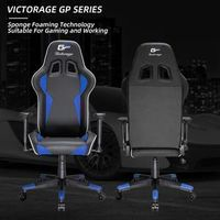 VICTORAGE Gaming Chair-Inspired by Racing car(Blue) thumbnail image