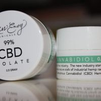 HEMP CBD ISOLATE - CBD CRYSTALS - CBD POWDER