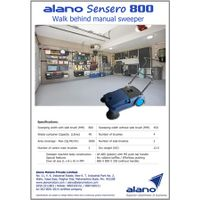 Alano 800: Manual Sweeper