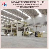 Spunbonded nonwovens production line equipment