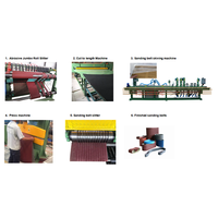 Whole Production Line OF Abrasive Sanding Belt Converting Machine