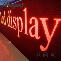 Meiyad featured products P10 single red/green/blue/white/yellow led sign led text display