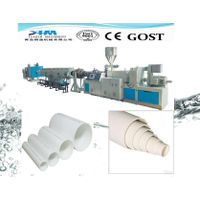 pvc water supply drainage pipe extrusion line