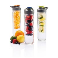 BPA free plastic infusion drinking tritan Juice infuser protein shake water bottle