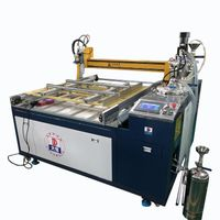 LED water-proof driver glue filling machine,AB glue meter mixing and potting machine thumbnail image
