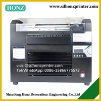 fast speed a3 dx5 head white ink direct to t-shirt garment printing machine HZ-A3-8C thumbnail image