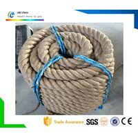 Direct 3 Strand Twist Jute Sisal Rope Factory