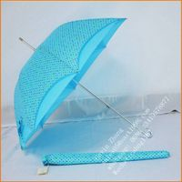 Fashionable Apollo Straight White Umbrella for Lady