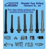 screw spike, rail sleeper screw thumbnail image