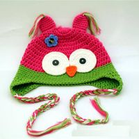 Lovely Kid Hat Animals Warm Hat for Winter thumbnail image