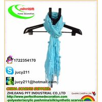 LIGHT BLUE COLOR SCARF WITH BUTTON,summer style