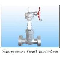 high pressure forged gate valve