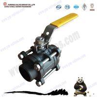 3pc high pressure full welded ball valve