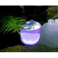 Portble Inflatable LED Solar Light for outing camping hiking garden mountaineering without power sup thumbnail image