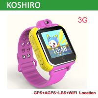 Touch Screen 3G Watch Phone GPS Tracker with Camera