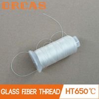 High temperature insulation fireproof sewing thread glass fiber yarn thumbnail image