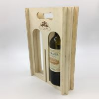 Multifunctional Wooden Wine Box Solid Wood Wine Box