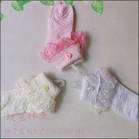lace cotton girl socks from GuangDong socks factory thumbnail image