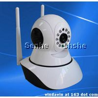Dual antenna IP Camera P2P wifi burglar alarm monitoring HD Onvif 2.0 protocol
