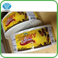 Direct manufacture customized waterproof adhesive label
