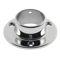 China supply investment casting stainless steel round base building hardware thumbnail image