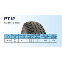 Truck tire 1200-24 rib pattern