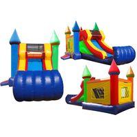 inflatable bouncy slide, bouncy house thumbnail image