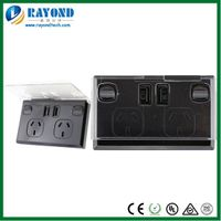 SAA Approved Australian Standard Double Power Point with 5V/3A Twin Ports USB Charger and Mobile Pho