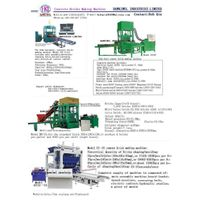 hydraulic concrete bricks making machine thumbnail image