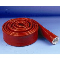 Fiberglass Sleeving with silicone rubber coated thumbnail image