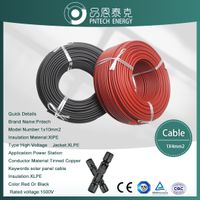 TUV Resistant XlPE Cable 1500V Copper Wire XLPE Double Insulation 4.0mm2 Solar Cable