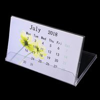 4X6INCH Plastic Calendar Cases CD cases Custom Tent Desk Calendar MINI Calendar Case thumbnail image